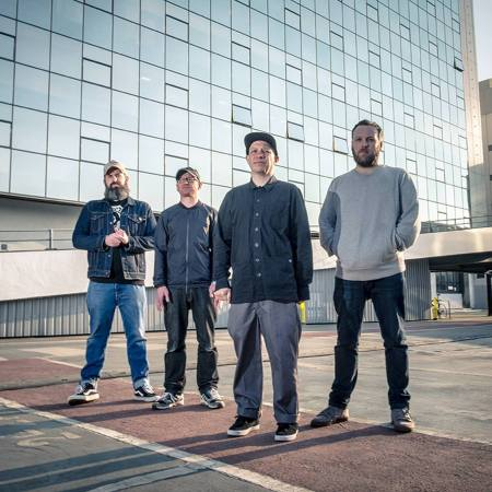 Scottish post-rock band Mogwai