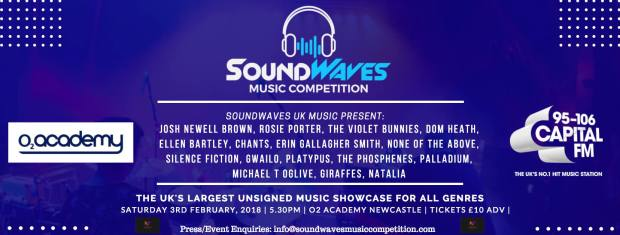 Soundwaves Music Competition Newcastle