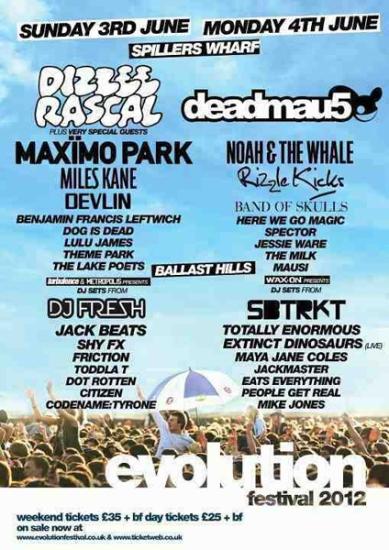 Evolution Festival 2012