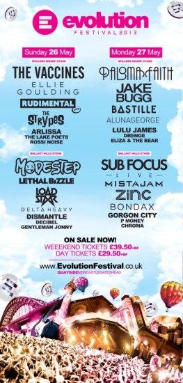 Evoultion Festival 2013