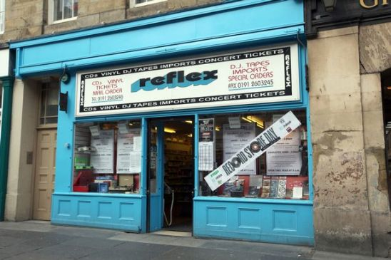 Reflex Records Newcastle