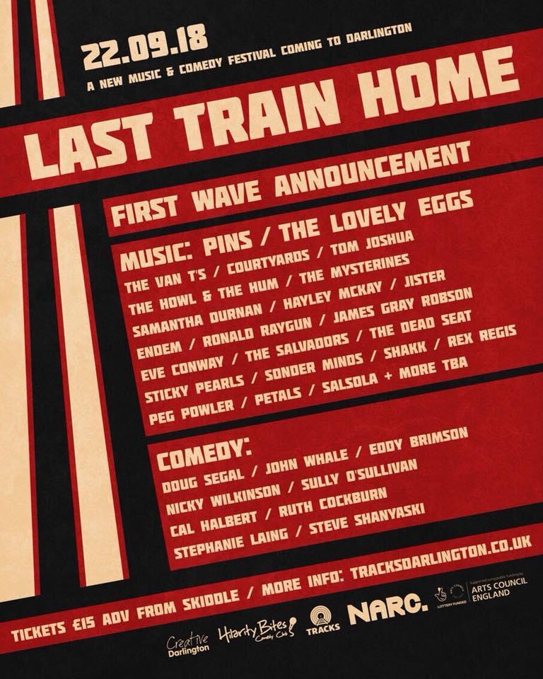 Last Train Home Festival Darlington