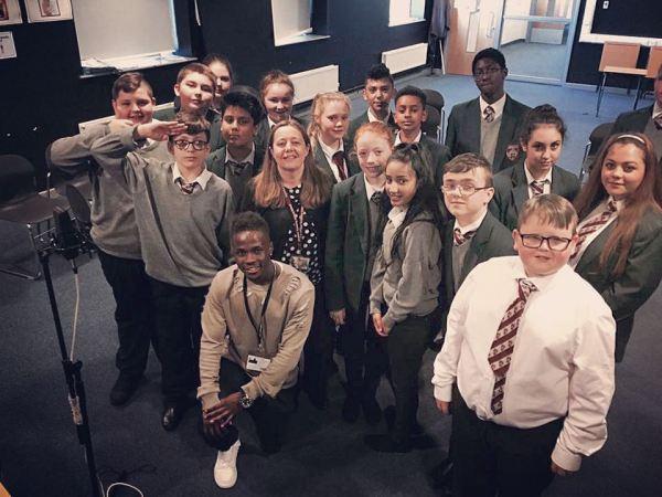 Kema Kay at local school Newcastle