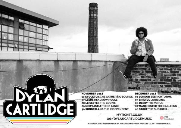 Dylan Cartlidge UK Tour 2018 poster