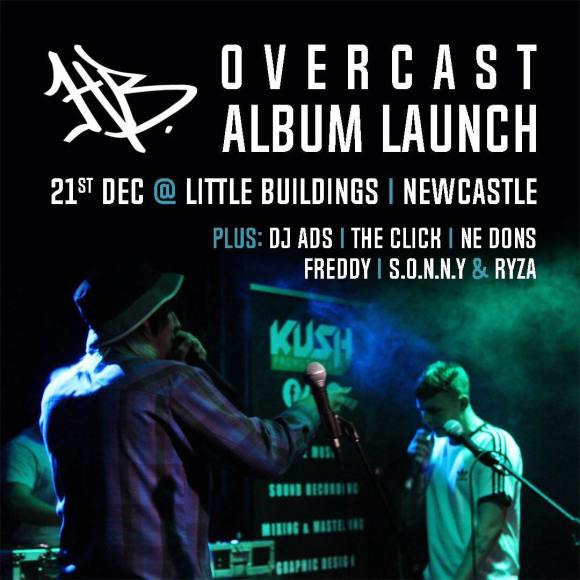 HB Album Launch Newcastle, Little Buildings