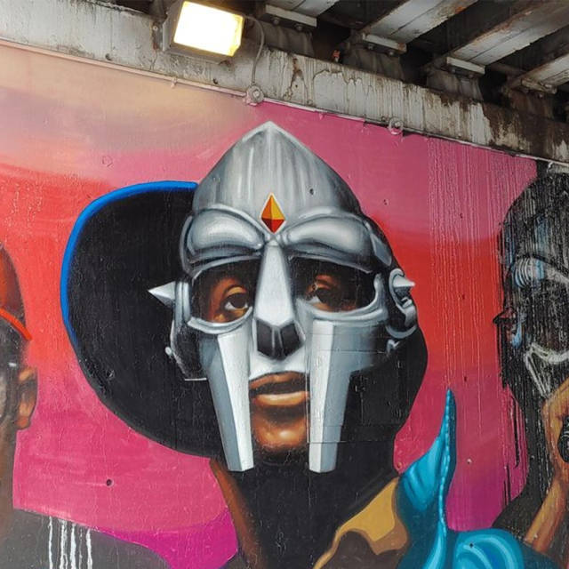 MF Doom Graffiti